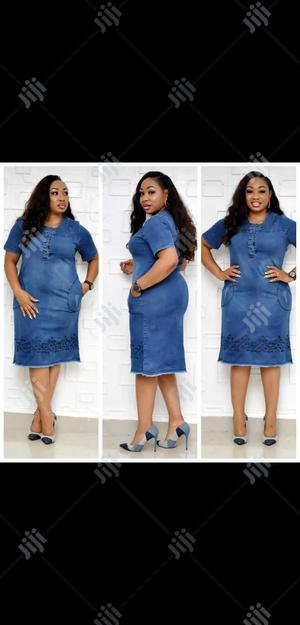 Ladies Casual Jeans Dress | Clothing for sale in Lagos State, Lagos Island (Eko)