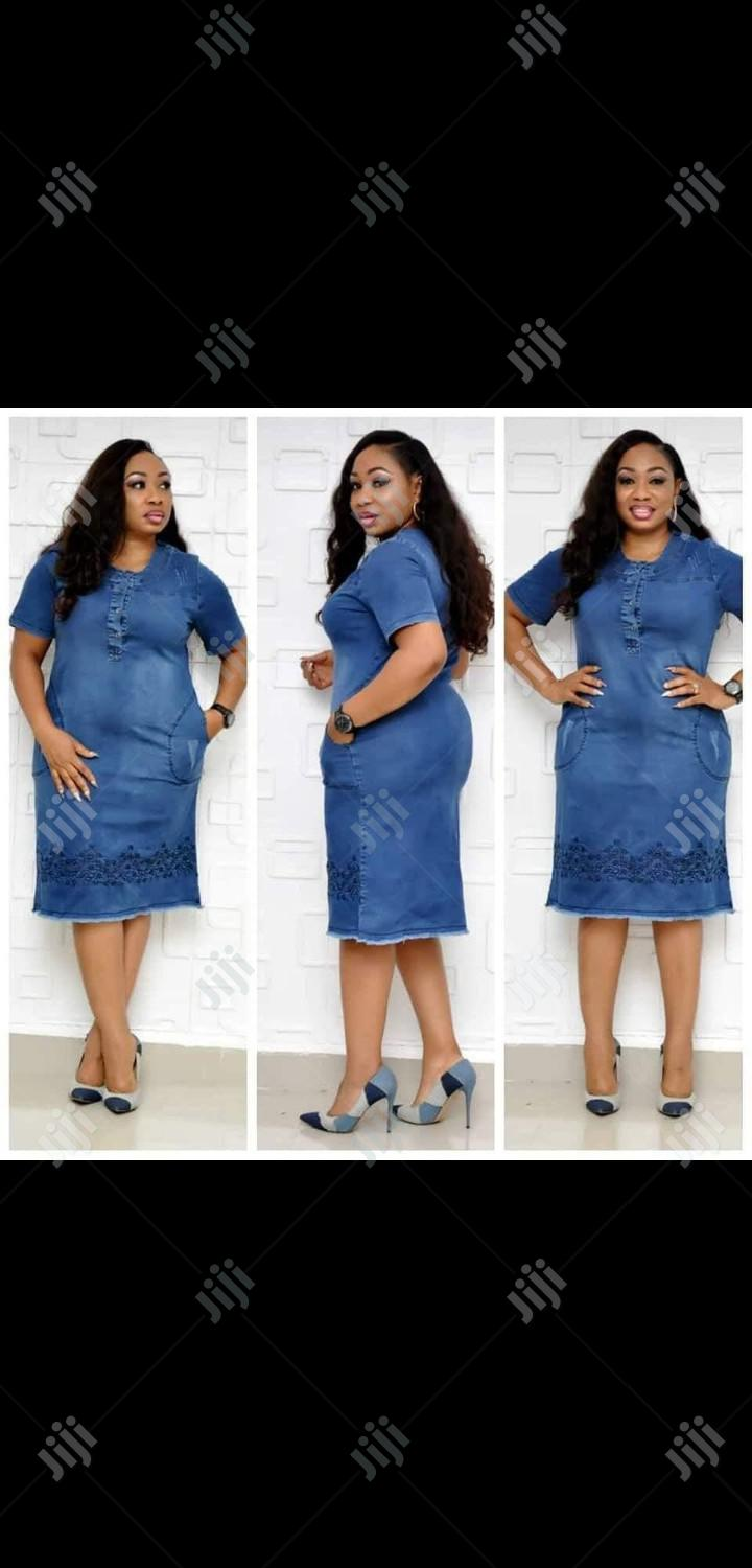 Ladies Casual Jeans Dress