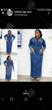 Ladies Formal Long Jeans Dress | Clothing for sale in Lagos State, Lagos Island