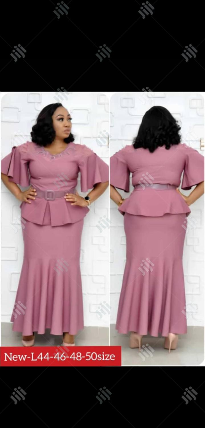 Women Turkey Pink Skirt And Blouses