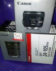 Canon Lenses Are Available At Rujohn Mega Concept Ltd. | Accessories & Supplies for Electronics for sale in Lagos State, Ojo
