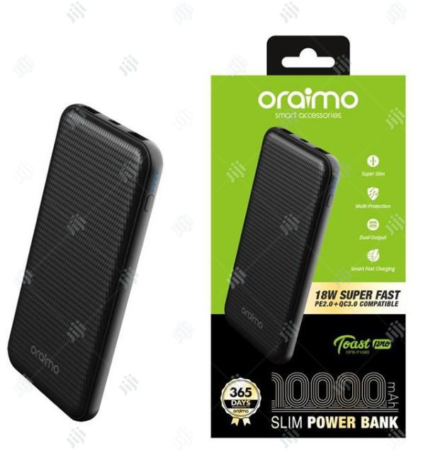 Oraimo 10,000mah Slim Powerbank   Accessories for Mobile Phones & Tablets for sale in Ikeja, Lagos State, Nigeria