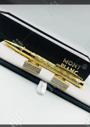 Pen With Cufflinks Gold | Clothing Accessories for sale in Lagos State, Lagos Island