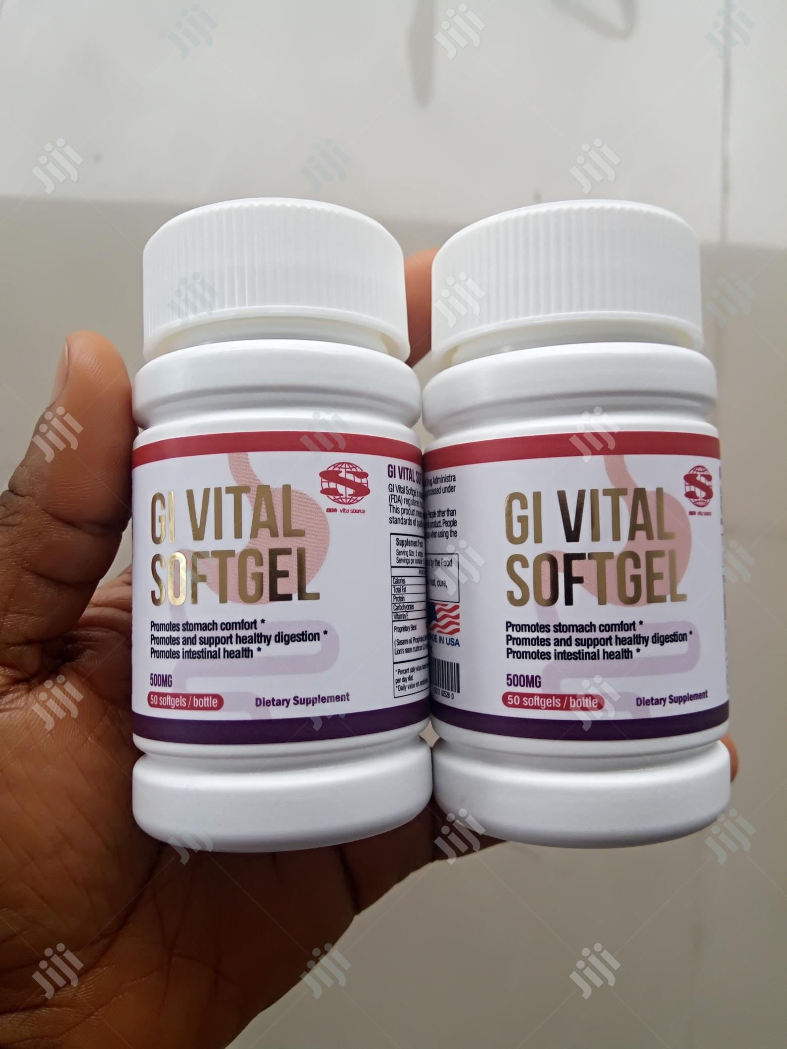 Approved Permanent Cure for Ulcer by FDA, New GI Vital Cures Ulcer100% | Vitamins & Supplements for sale in Guzape District, Abuja (FCT) State, Nigeria