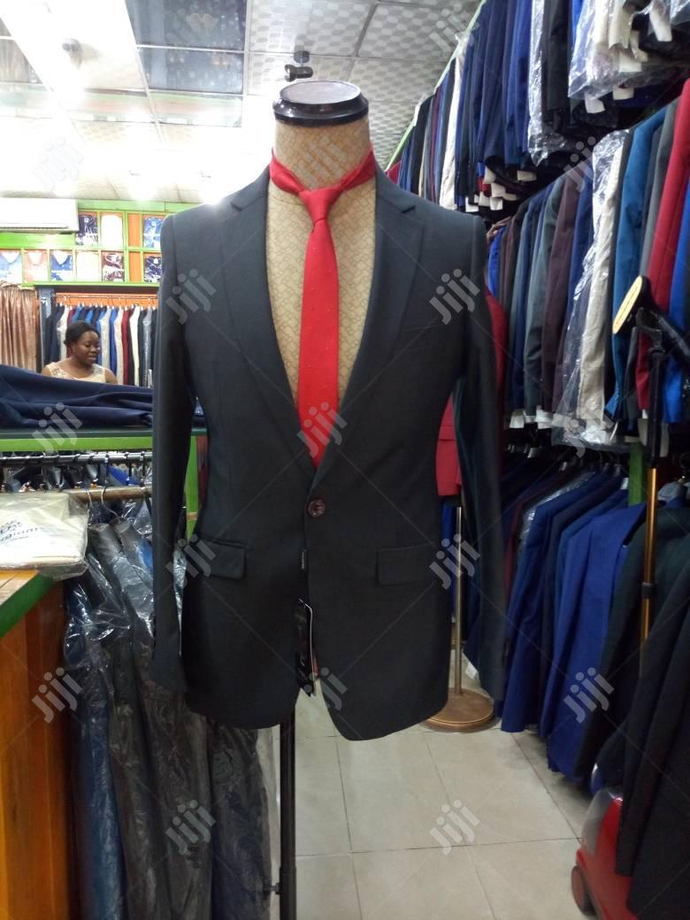 Archive: Plain Navy Blue Men's Suits