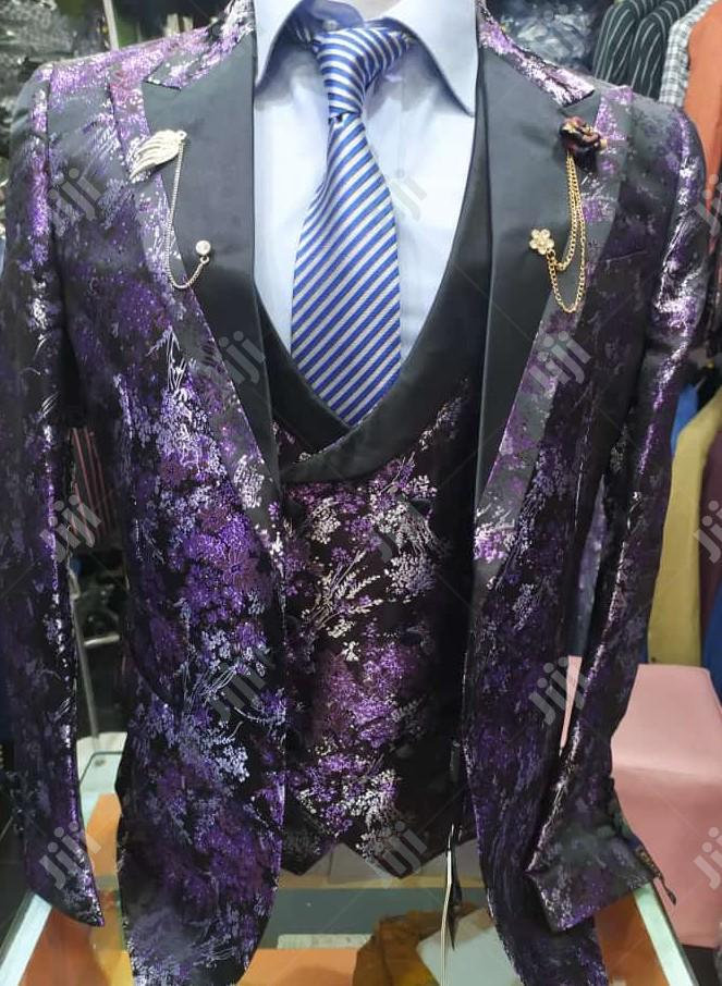 Designer's 3piece Turkey Men's Suits   Clothing for sale in Lagos Island, Lagos State, Nigeria