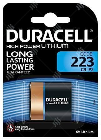 USA Duracell Distributing Nc 12210 Lithium Photo Battery, 223, 6-volt