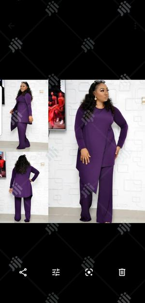 Ladies Formal Plain Palazzo Trouser and Blouse | Clothing for sale in Lagos State, Lagos Island (Eko)