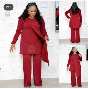 Ladies Formal Trouser and Blouse in Red | Clothing for sale in Lagos State, Lagos Island (Eko)