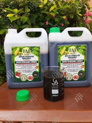 FAJ Bio-tech Limited Super Potassium F Humate Organic Fertilizer | Feeds, Supplements & Seeds for sale in Lagos State