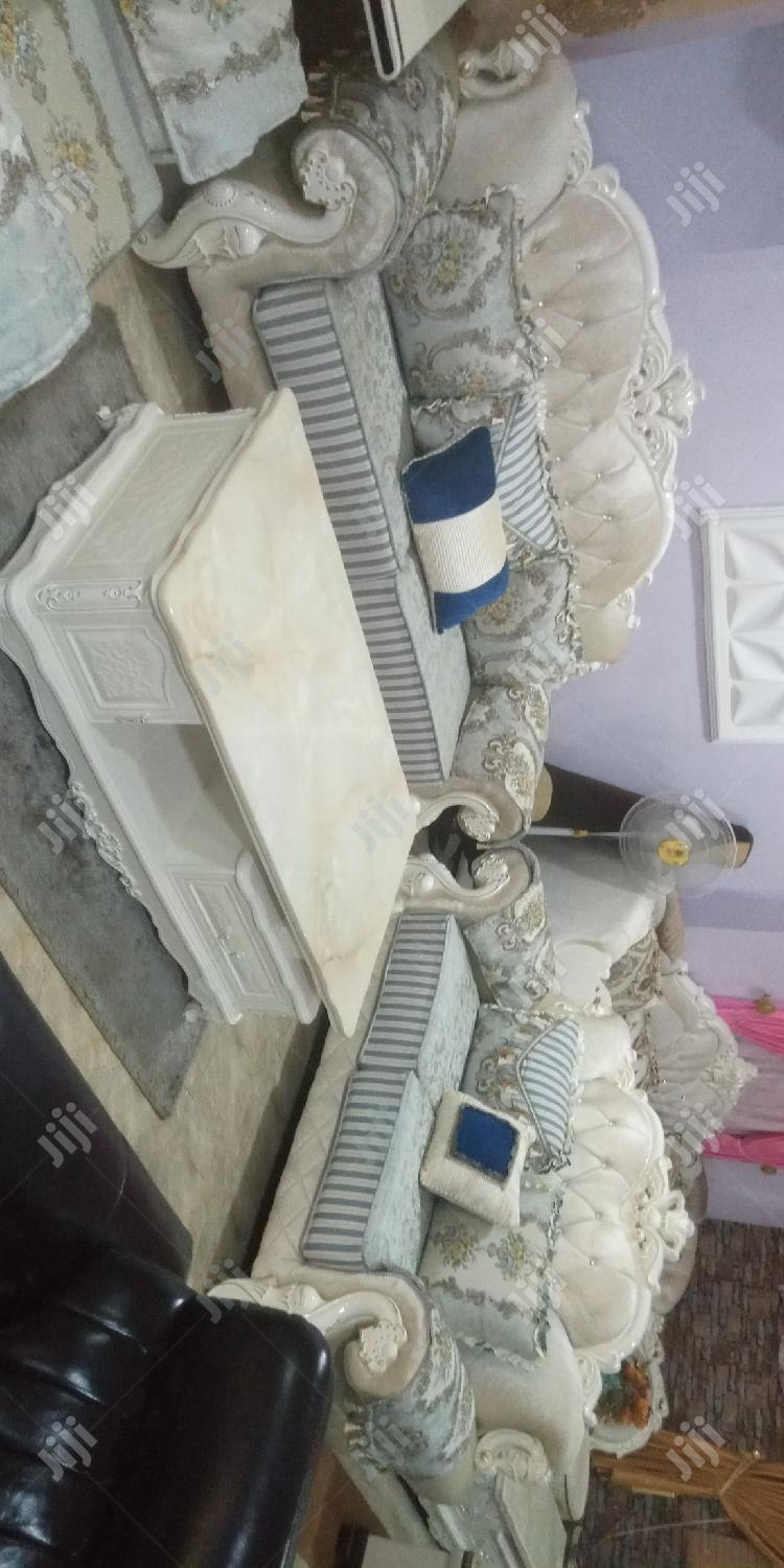 Imported.Fabric Sofa Sofa Chair.   Furniture for sale in Ajah, Lagos State, Nigeria