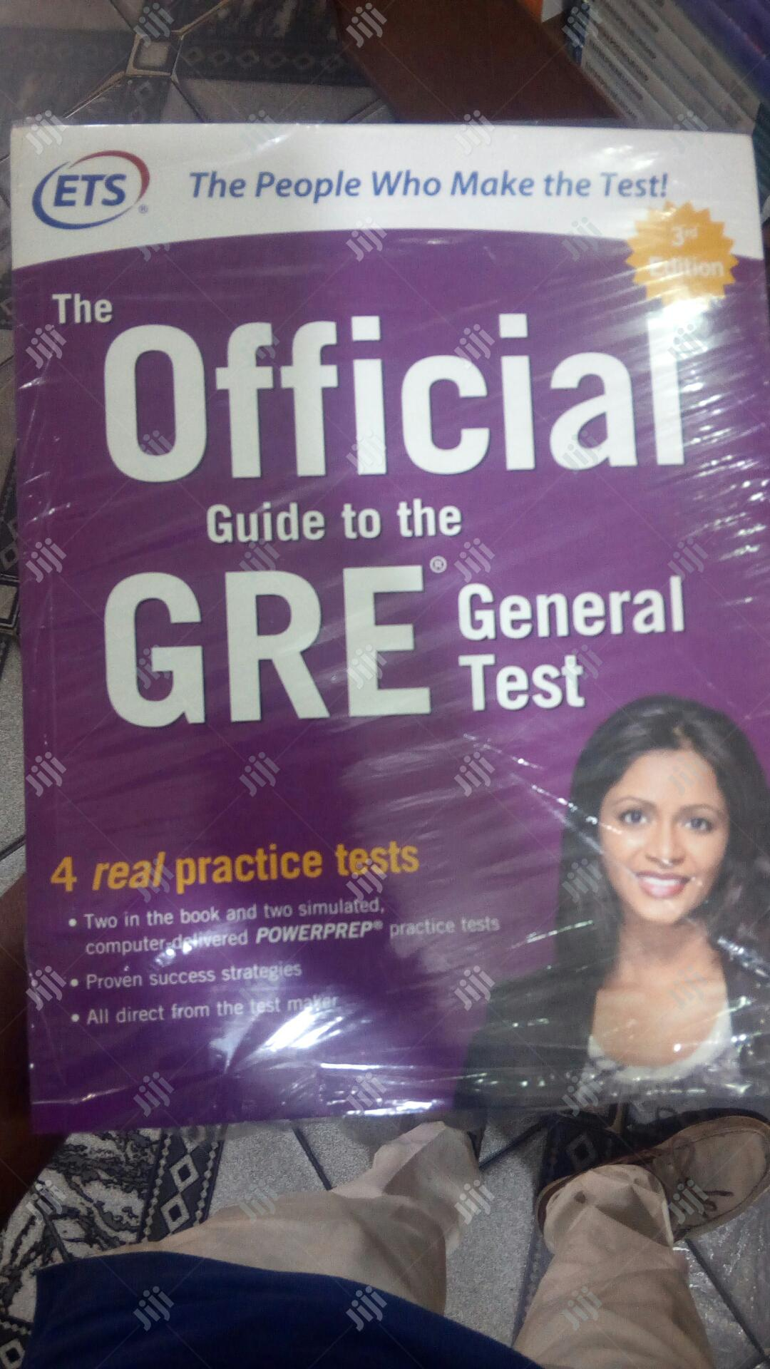 The Official Guide To Study GRE