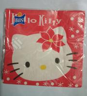 Hello Kitty Disposable Lunch Napkins/ Serviettes | Babies & Kids Accessories for sale in Lagos State, Surulere
