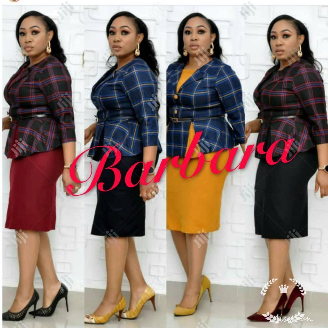 Babara Female Skirt Blouse