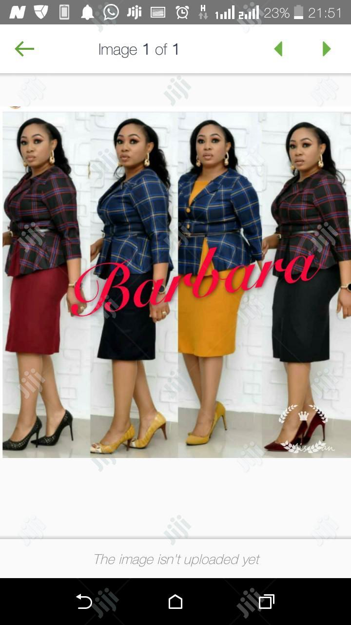 Babara Female Skirt Blouse   Clothing for sale in Ikeja, Lagos State, Nigeria