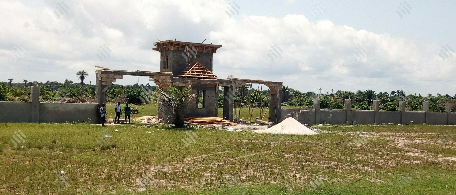 Plot of Land with C Of O In Progress for Sale.