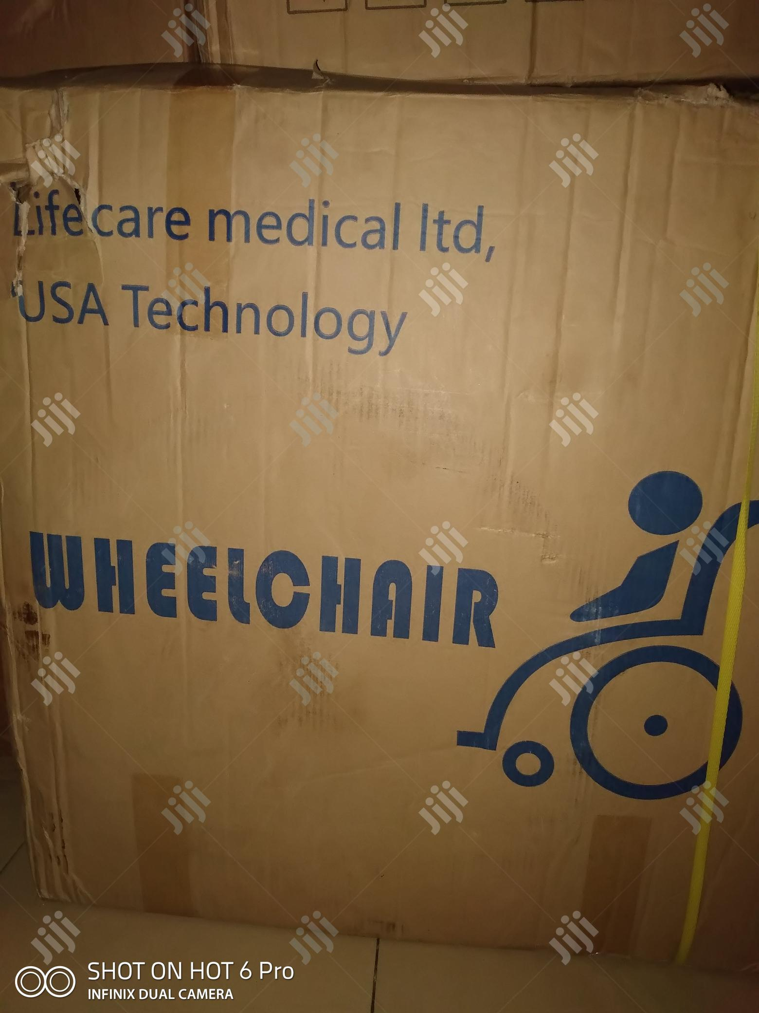 Wheelchair   Medical Supplies & Equipment for sale in Port-Harcourt, Rivers State, Nigeria