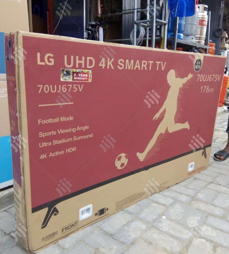 "LG 70""Inches Smart Internet Uhd 4K TV | TV & DVD Equipment for sale in Ojo, Lagos State, Nigeria"