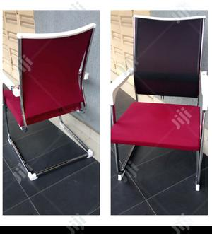 Red Visitors Chair | Furniture for sale in Lagos State, Ikeja