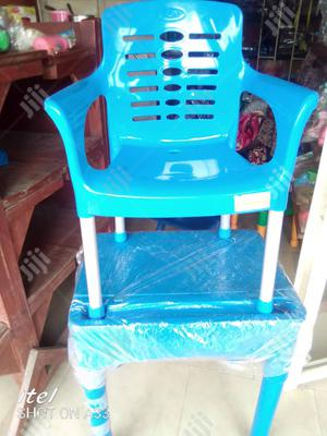 Kids Reading/Dinning Table With Locker And Chair Set   Children's Furniture for sale in Lagos State, Amuwo-Odofin
