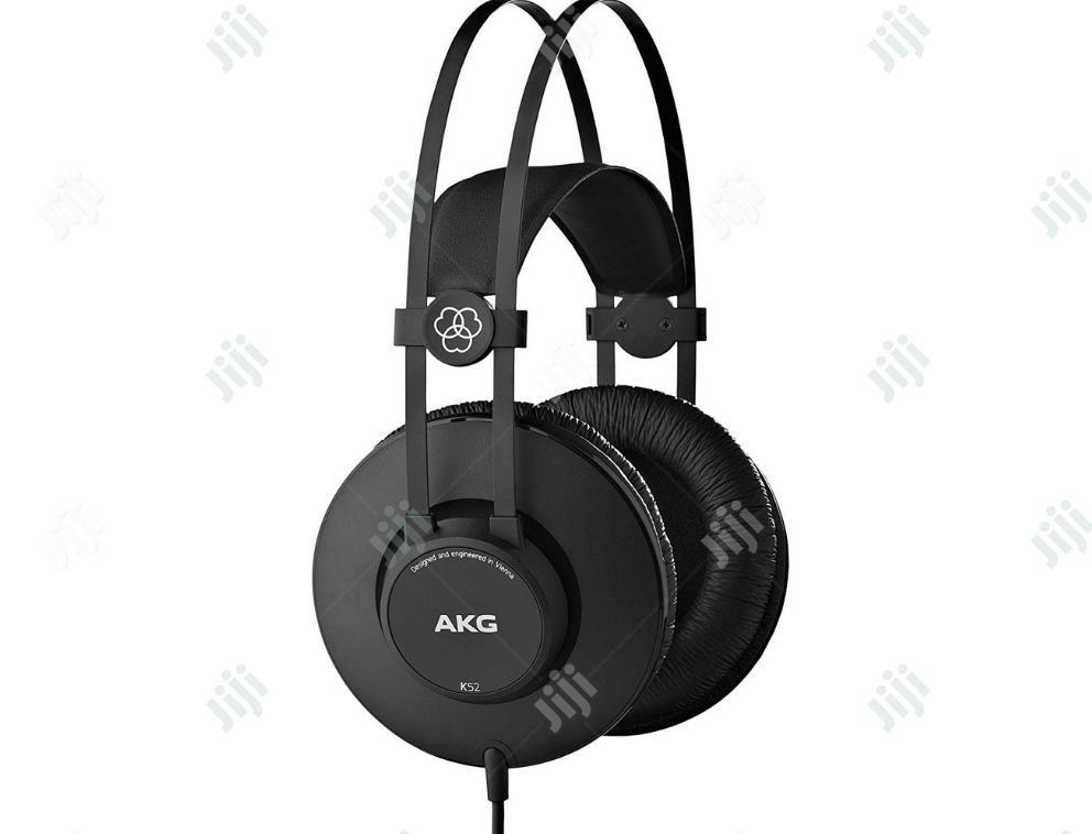 Archive: Akg - K52 - Studio Headphone