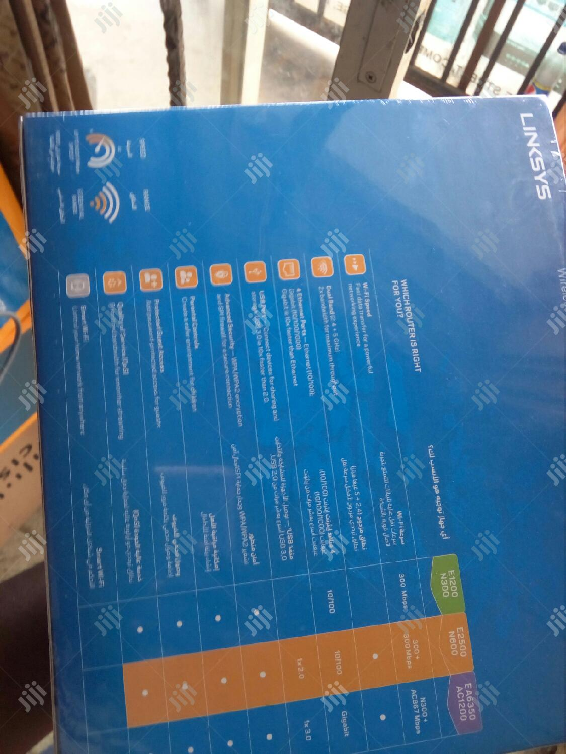 Linksys N600 E2500 | Networking Products for sale in Ikeja, Lagos State, Nigeria