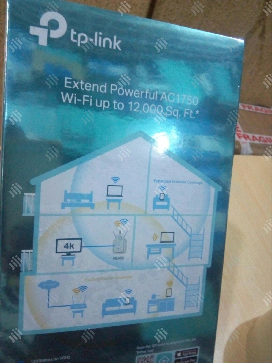 Tp Link Ac1750 Wi-fi Range Extender | Networking Products for sale in Ikeja, Lagos State, Nigeria