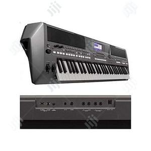 Yamaha PSR-S670 Keyboard With Adapter,Stand, Sustain Pedal   Musical Instruments & Gear for sale in Lagos State, Ojo