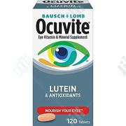 Bausch And Lomb Ocuvite Eye Vitamin & Minaral Supplement-120 Tablets | Vitamins & Supplements for sale in Lagos State, Ikeja