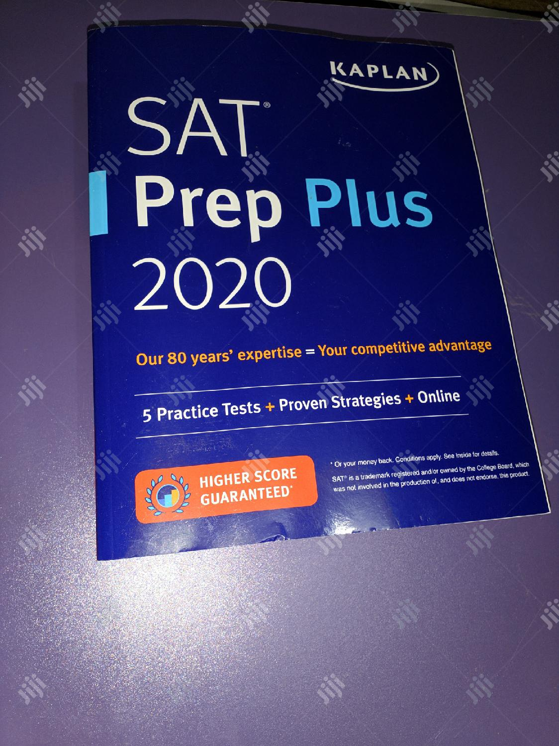 Original 2020 SAT Prep Plus By Kaplan