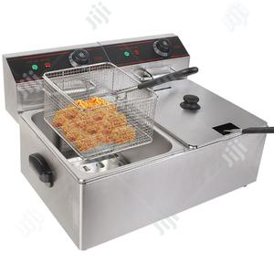 Electric Industrial Double Basket Deep Fryer | Restaurant & Catering Equipment for sale in Lagos State, Surulere