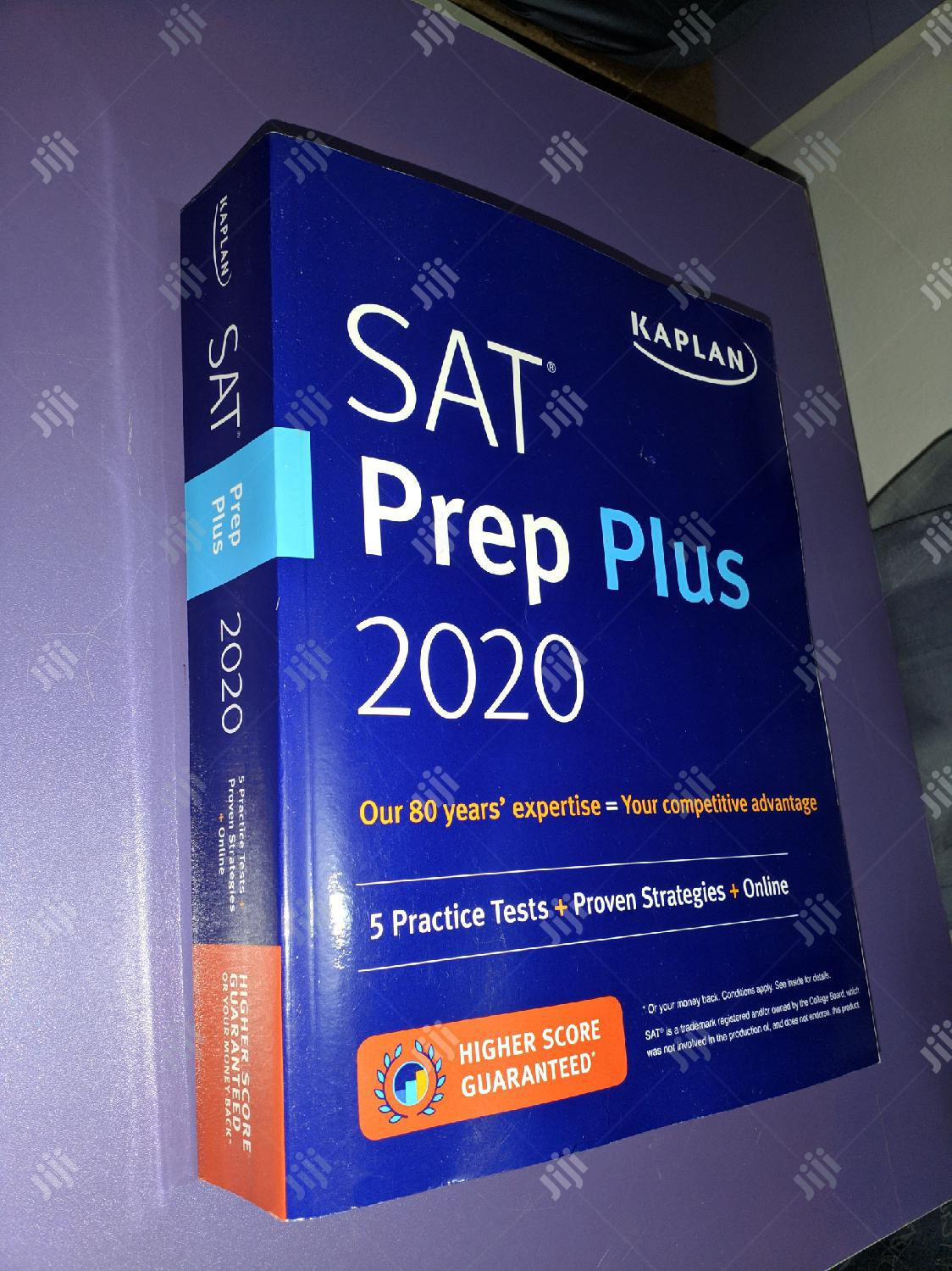 Original 2020 SAT Prep Plus By Kaplan | Books & Games for sale in Lekki, Lagos State, Nigeria