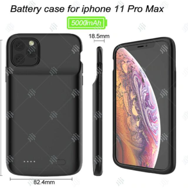 Rechargeable Battery Case for iPhone 11 Pro Max Charging Cover