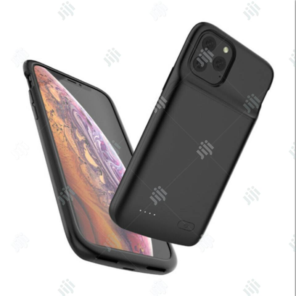 Rechargeable Battery Case for iPhone 11 Pro Max Charging Cover | Accessories for Mobile Phones & Tablets for sale in Ikeja, Lagos State, Nigeria