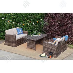 Outdoor Rattan Sofa W/ Cushion | Furniture for sale in Lagos State, Ikeja
