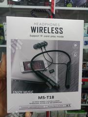 MS_T18 Neckband Stereo Earphone | Headphones for sale in Lagos State, Ikeja