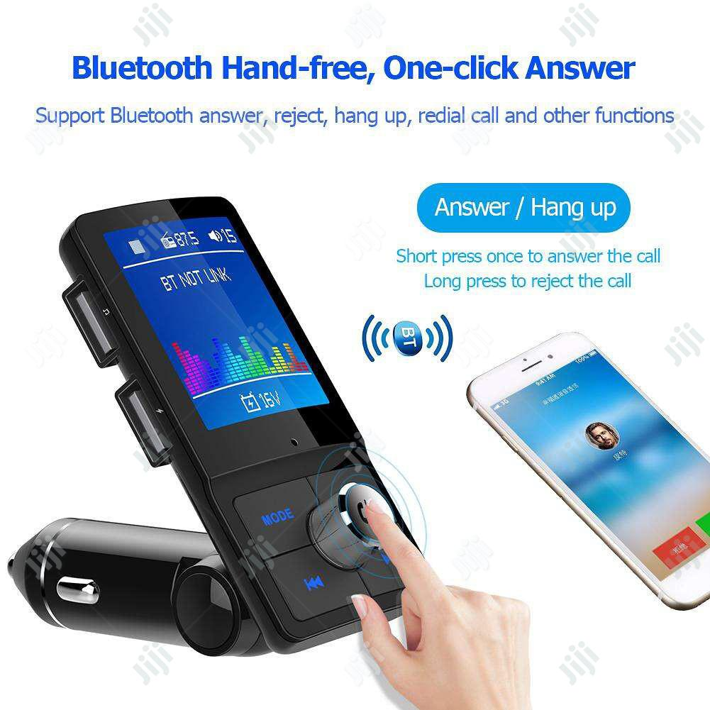 LCD Bluetooth FM Transmitter Car MP3 Player
