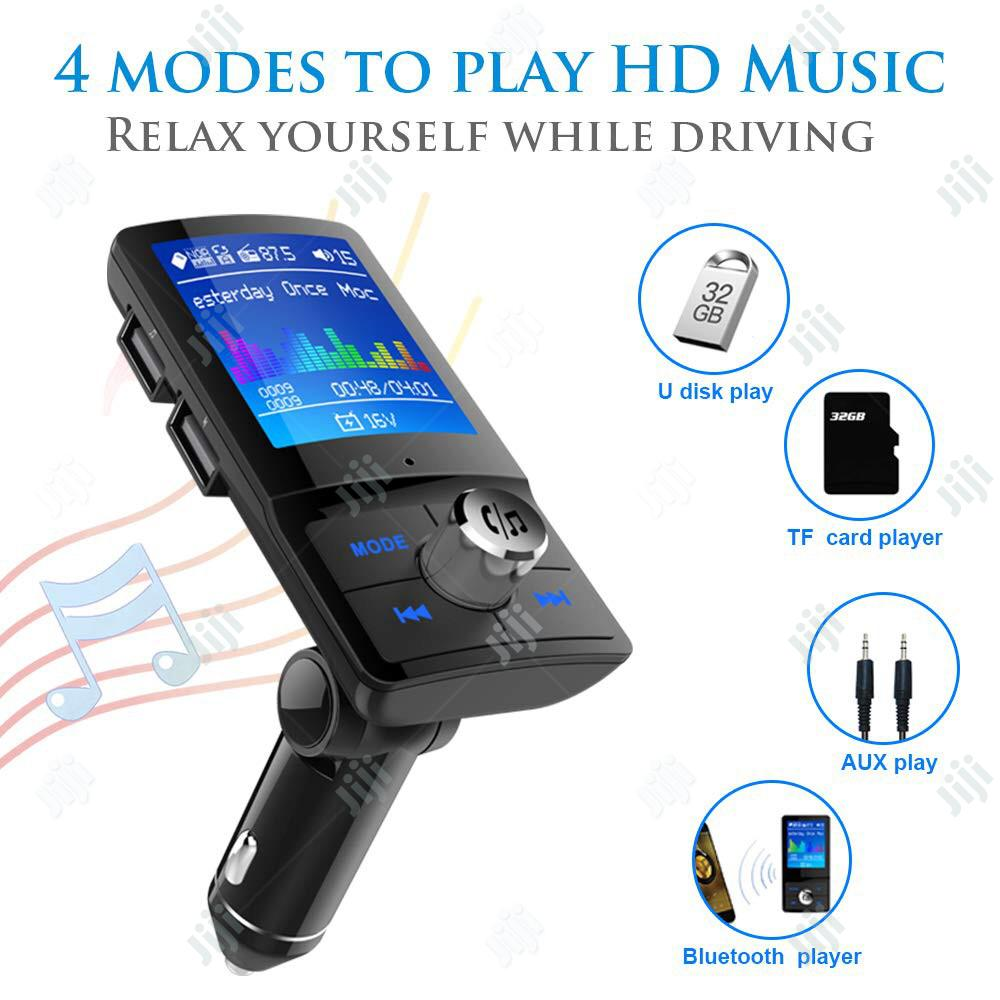 LCD Bluetooth FM Transmitter Car MP3 Player | Vehicle Parts & Accessories for sale in Ilupeju, Lagos State, Nigeria