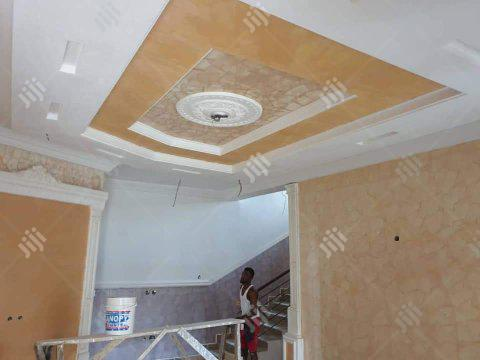 Ceiling & Wall Finishing Decorations.. | Building & Trades Services for sale in Benin City, Edo State, Nigeria