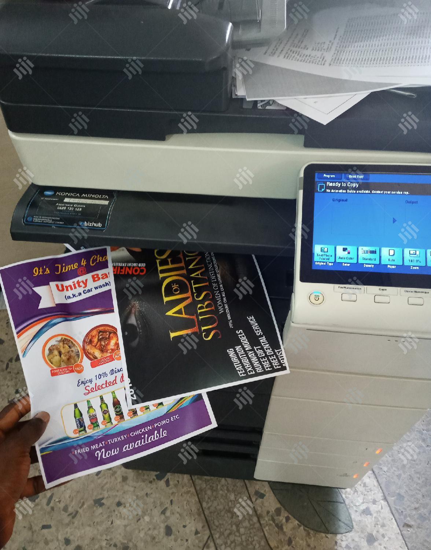 Konica Minolta Bizhub C454e Direct Image Coloured Printer