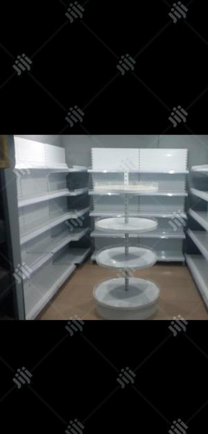 5 Layers Supermarket Single Sided Display Shelves   Store Equipment for sale in Lagos State