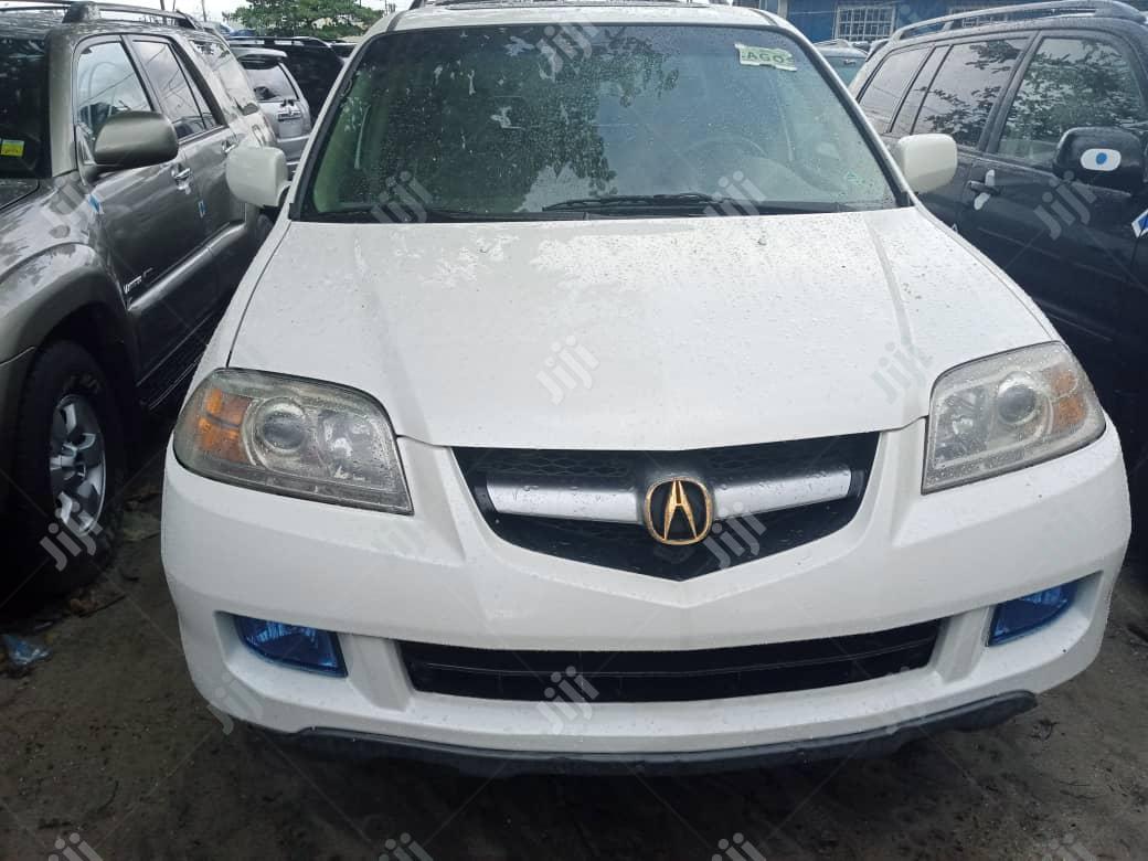 Archive: Acura MDX 2006 White