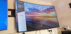 """65"""" Premium UHD Curved Samsung Smart HDR Mu9000 Tv   TV & DVD Equipment for sale in Lagos State, Ojo"""