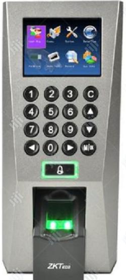 Zkteco F18 Fingerprint Time Attendance And Access Control