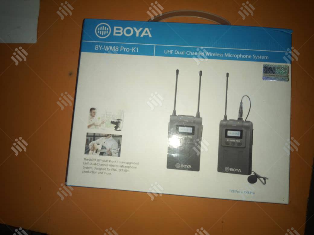 Wireless Microphone. Boya BY-WM8 Pro-K1 UHF Wireless Mic