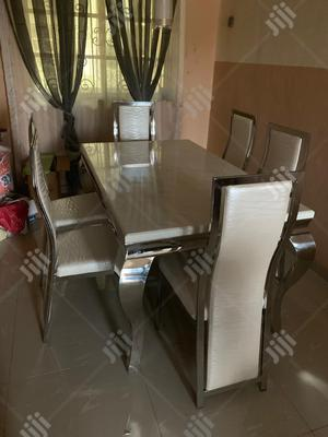 Pure Standard Marble Dining Table | Furniture for sale in Lagos State, Ojodu