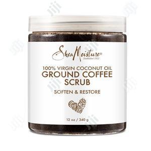 100% Virgin Coconut Oil Ground Coffee Scrub