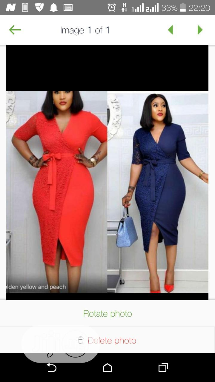 Female Fitted Gown   Clothing for sale in Ikeja, Lagos State, Nigeria