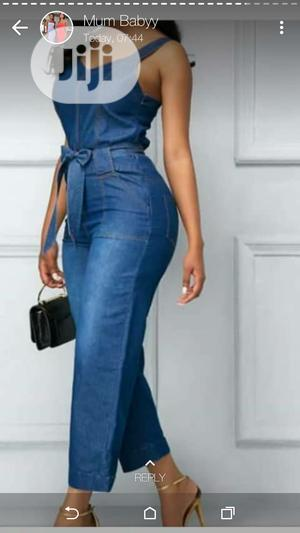 New Female Jean Jumpsuit | Clothing for sale in Lagos State, Ikeja