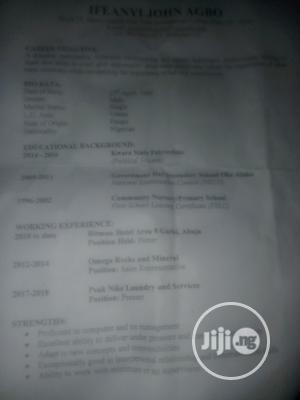 Hotel CV   Hotel CVs for sale in Abuja (FCT) State, Jikwoyi